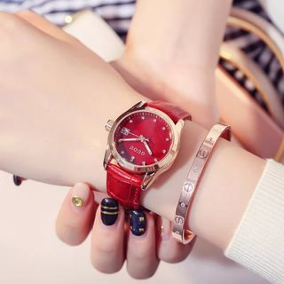 Đồng hồ nữ GUOU 8076 giá sỉ