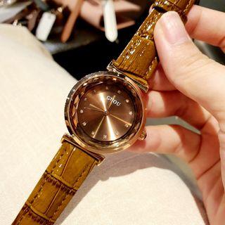 Đồng hồ nữ GUOU 6601 giá sỉ