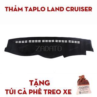Thảm Chống Nóng Taplo Xe Toyota Land Cruiser - Thảm Taplo Lông Cừu - TẶNG Túi Cafe Treo Xe giá sỉ