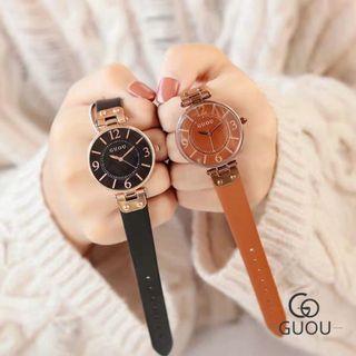 Đồng hồ nữ GUOU 8213 giá sỉ