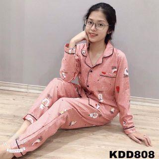 Bộ pijama kate thái siêu đẹp giá sỉ