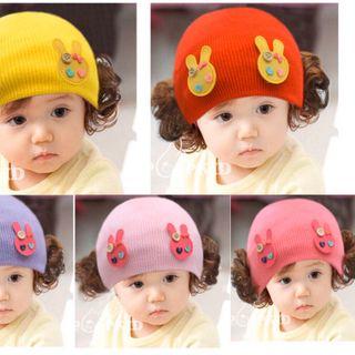 Mũ tóc giả bé gái giá sỉ