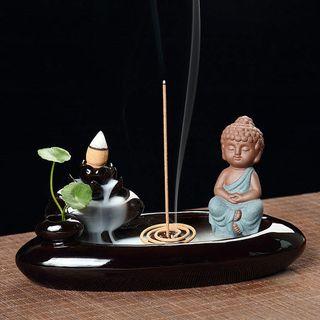 Thác khói trầm hương Phật thiền hồ liên hoa giá sỉ