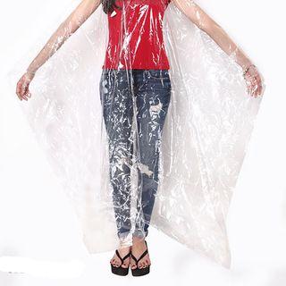 Áo mưa nhựa vi sinh trong suốt giá sỉ