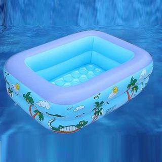 Bể bơi phao chữ nhật 2 tầng 1m2 giá sỉ