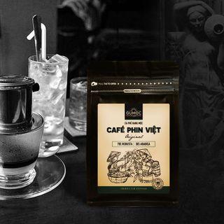 CÀ PHÊ PHIN VIỆT GUMOC - Cà phê BỘT rang mộc 250g giá sỉ