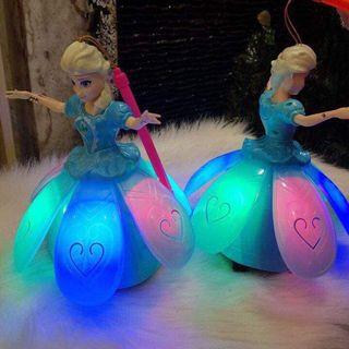 Lồng đèn trung thu công chúa Elsa có đèn có nhạc giá sỉ