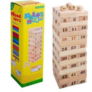Bộ đồ chơi xếp gỗ giá sỉ