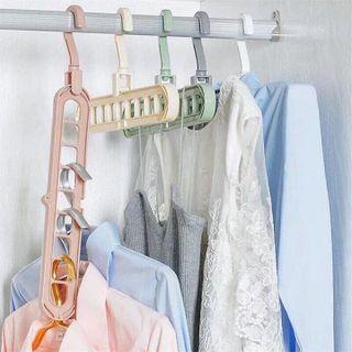 Móc treo quần áo đa năng 9 Lỗ giá sỉ