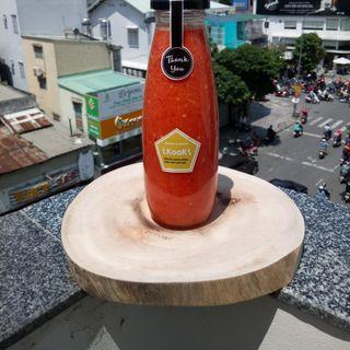 500ml Muối ớt đỏ chai thủy tinh 500ml giá sỉ