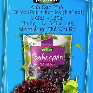 Cherry sấy khô 100 tự nhiên giá sỉ