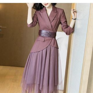 Đầm vest váy voal cao cấp giá sỉ