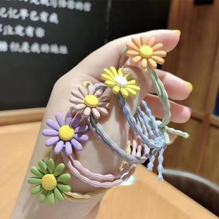 Dây buộc tóc hoa giá sỉ