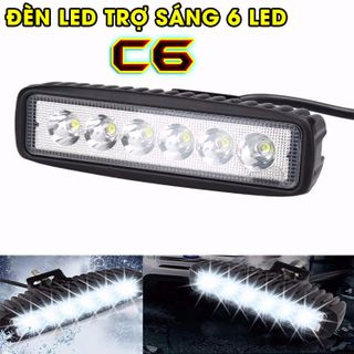 Đèn led C6 trợ sáng cho xe máy giá sỉ