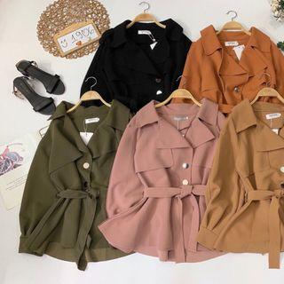 Áo khoác vest đắp gài nút form dài giá sỉ