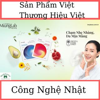 Mặt Nạ Việt - Nhật - Dưỡng Ẩm - Trắng sáng - Chống Lão Hóa Vượt Bậc - Miung Lab giá sỉ