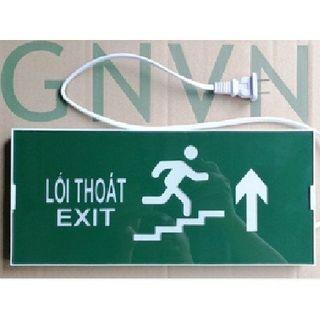 Đèn EXIT cầu thang chỉ hướng lên 1 mặt GNVN HW-150LED giá sỉ
