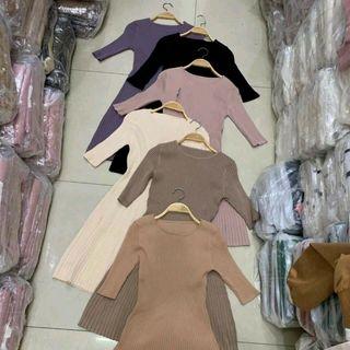 váy Len quảng châu giá sỉ