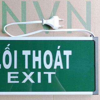 đèn exit GNVN 2 mặt không hướng giá sỉ