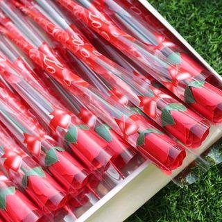 hoa hồng sáp thơm nguyên cây hàng luôn có sẵn giá sỉ