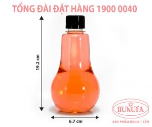 Chai nhựa MISO bóng đèn 330ml giá sỉ