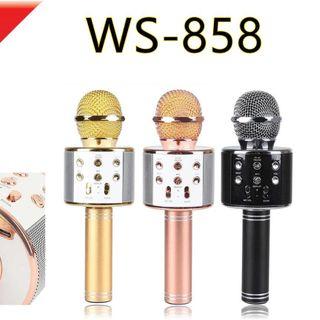 Mic karaoke ws858 giá sỉ
