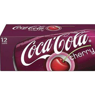 Nước Ngọt Hương Cherry Coca Cola Thùng 12 Lon X 355Ml giá sỉ