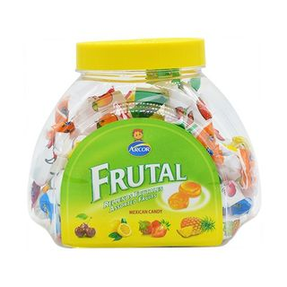 Kẹo cứng Arcor Rellenos Frutales 250gr - Hũ Nhựa giá sỉ
