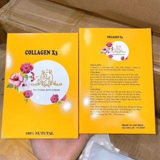 Tắm Trắng Collagen X3 giá sỉ