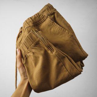 quần jogger kaki màu vàng bò giá sỉ