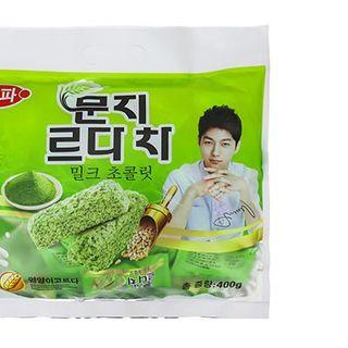 Bánh Yến Mạch Trà Xanh Hàn Quốc giá sỉ