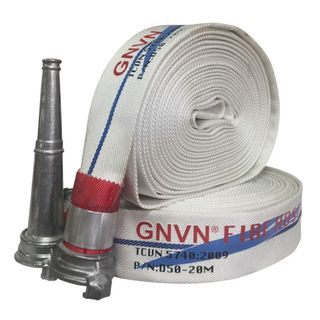 Vòi chữa cháy D50-20M -W 16 -B 28MPA Khớp nối Ø50 Lăng phun THEO TCVN 57402009 GNVN VIỆT NAM giá sỉ