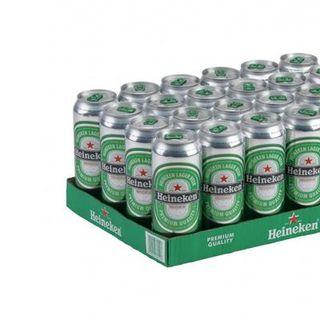 Thùng 24 Lon Bia Heineken Hà Lan Lon Cao 500Ml giá sỉ