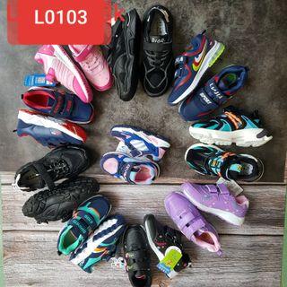 Ảnh Thật - Tách Lô 30 Đôi Giày Thể Thao Trẻ Em Hàng Quảng Châu giá sỉ