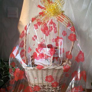 Túi giấy kiếng gói quà hoa văn đẹp 60cm 80cm giá sỉ