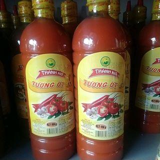 Tương ớt Thanh Hồ chai 1kg giá sỉ