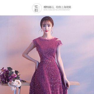 Đầm dự tiệc style công chúa giá sỉ