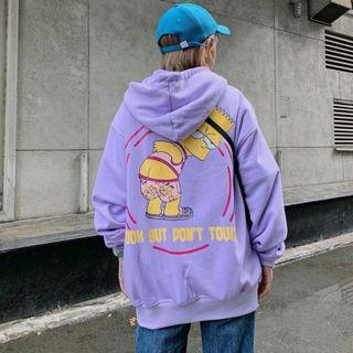 Áo hoodie ông kẹ màu tím giá sỉ