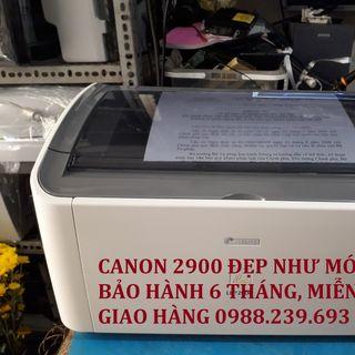 Máy in cũ Canon 2900 giá rẻ đẹp như máy mới giá sỉ