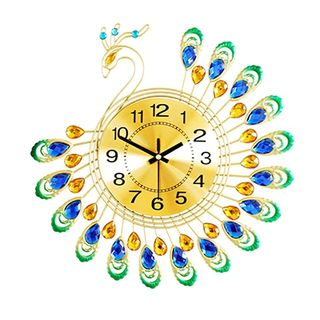 Đồng hồ treo tường con công size 38x38 cm giá sỉ