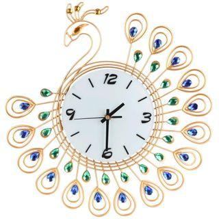 Đồng hồ treo tường con công size 35x35 cm giá sỉ