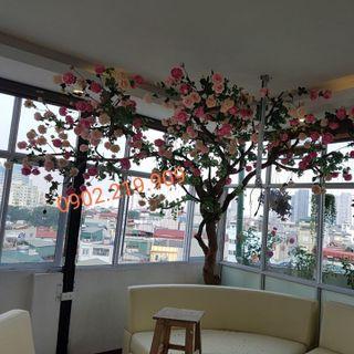 cây hoa hồng giả giá sỉ