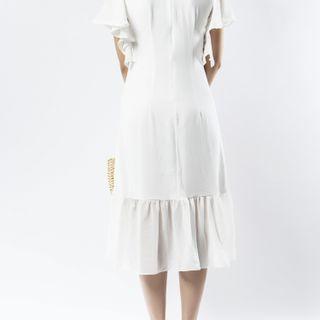 Đầm nữ trắng tinh khôi giá sỉ