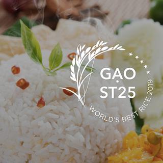 Gạo ngon nhất thế giới gạo ST25 sóc trăng giá sỉ
