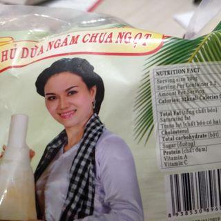 Củ hủ dừa Bến Tre ngâm chua ngọt giá sỉ