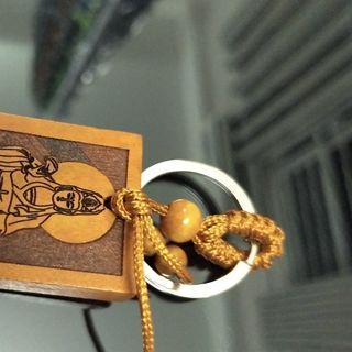 Móc khóa gỗ đẹp phong thủy giá sỉ