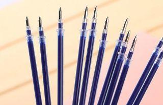 Ruột bút mực nước màu xanh dương màu đỏ và đen giá sỉ