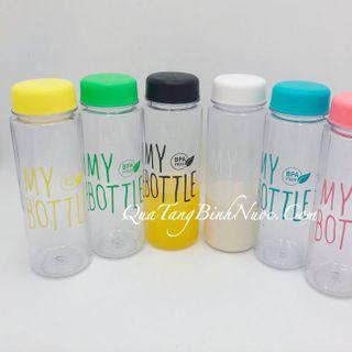Bình Nước Nhựa My Bottle 500ml Q055 giá sỉ