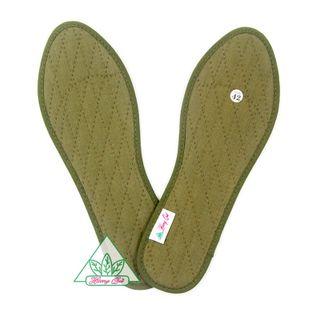 Lót giày Quế vải cotton CI-14 khử mùi hôi chân giúp êm chân ấm chân phòng cảm cúm cải thiên sức khỏe giá sỉ