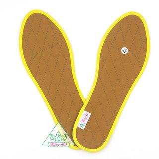 Lót giày Quế vải cotton CI-1 khử mùi hôi chân giúp êm chân ấm chân phòng cảm cúm cải thiên sức khỏe giá sỉ